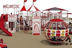 playground equipment for children with and without special needs