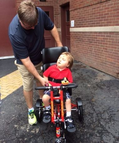 adaptive specialize children's bike