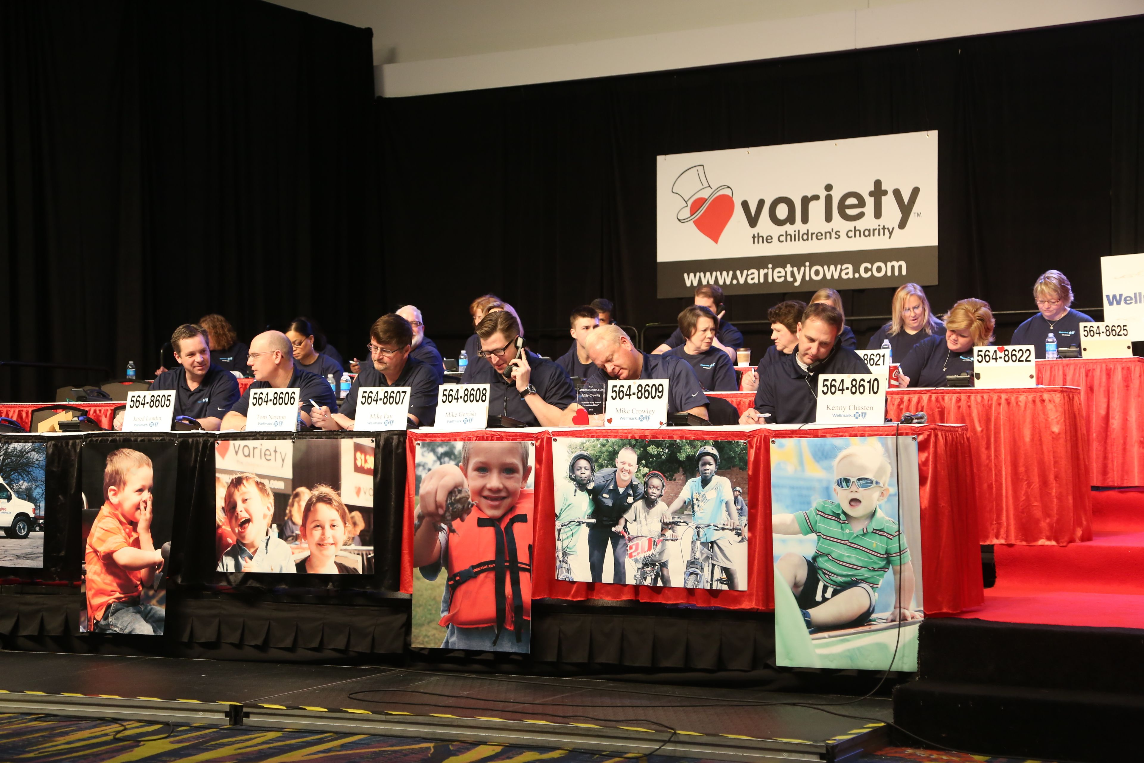 Volunteer to Answer phone as a group or company at the variety telethon